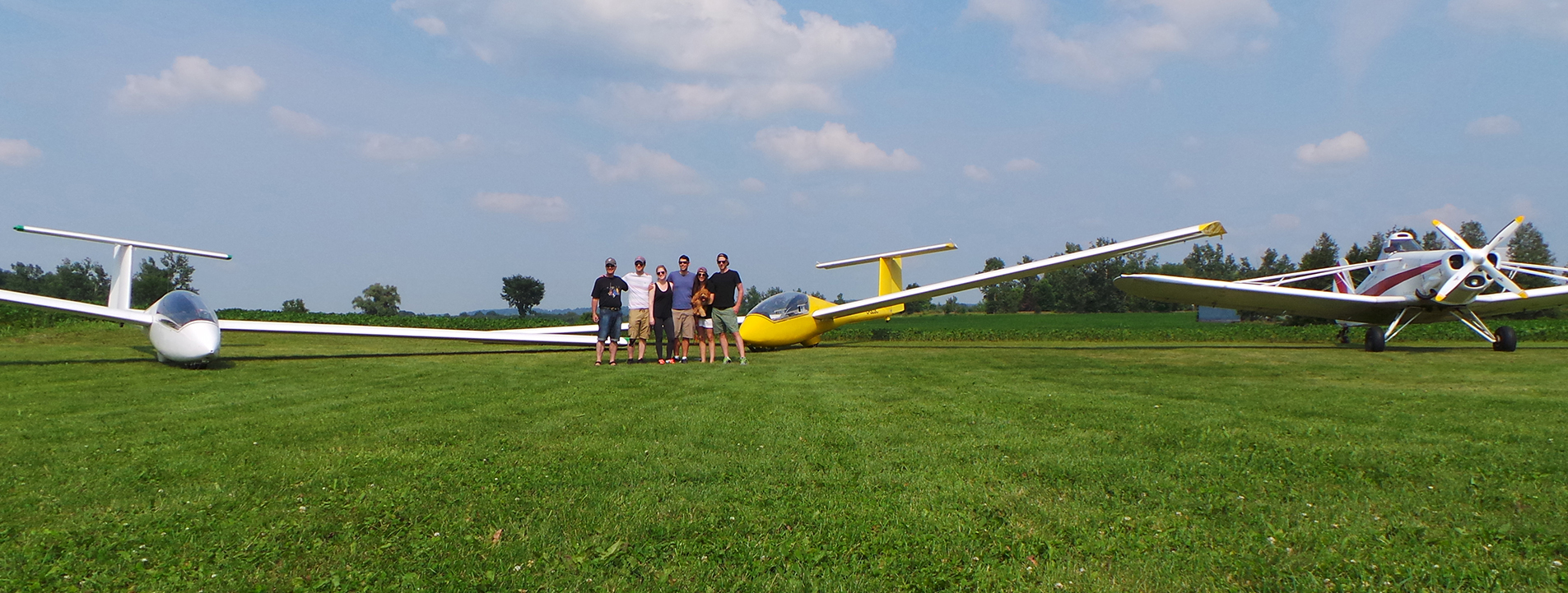 Come Fly with Us - Great Lakes Gliding Club - Closest to Toronto